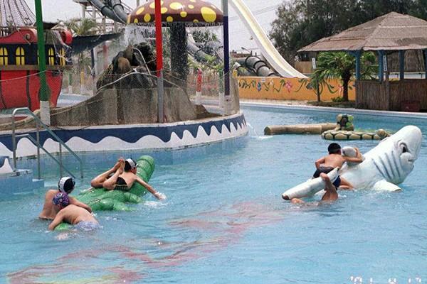 悟智樂園的漂漂流水池。圖/聯合報系資料照