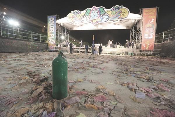 八仙樂園發生嚴重公安意外。圖/聯合報系資料照