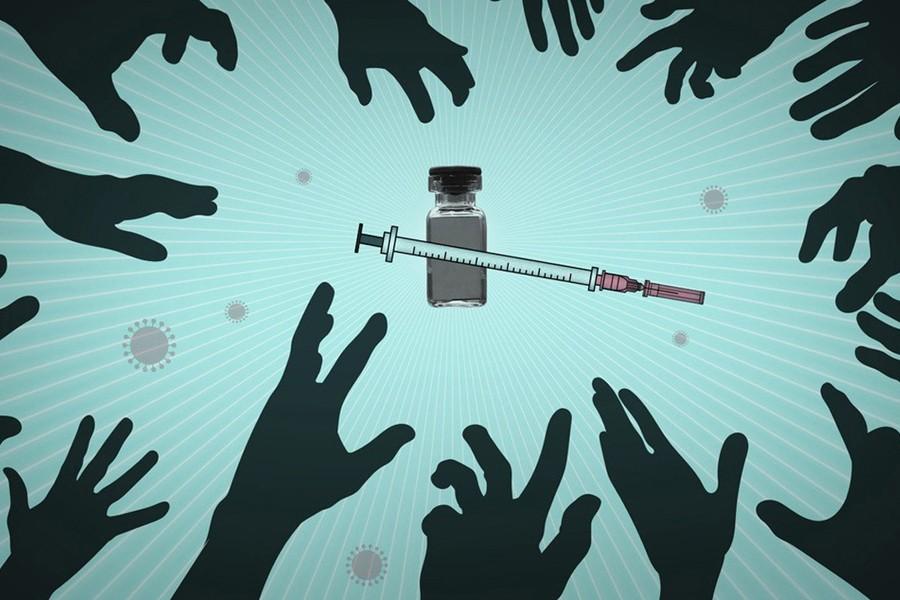 新冠疫苗爭奪戰開跑