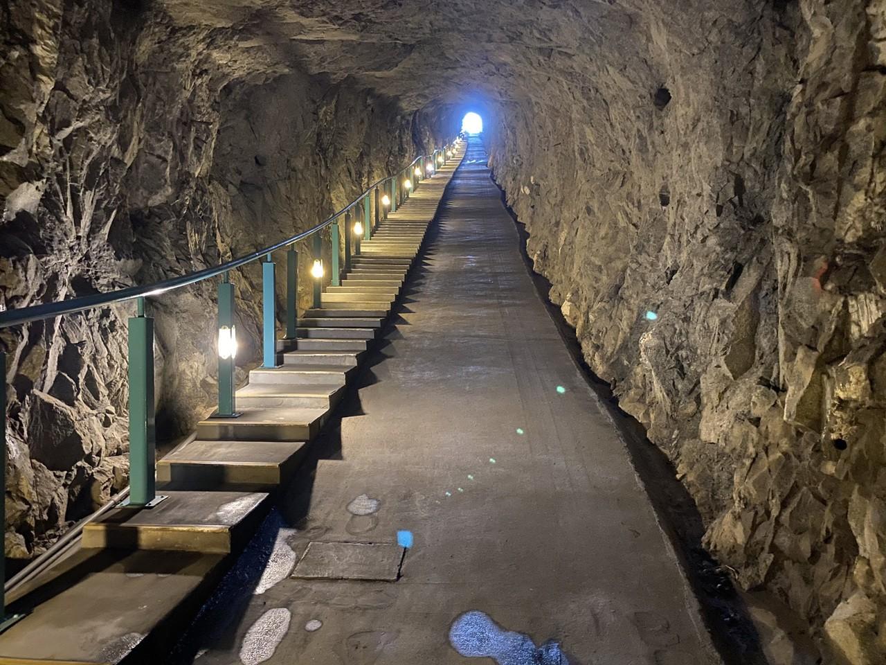安東坑道。圖/網友提供
