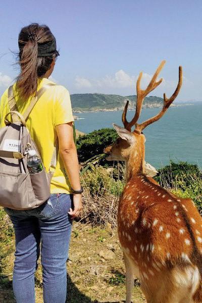 絕美國之北疆!跳島玩馬祖 和小鹿一起眺望蔚藍大海