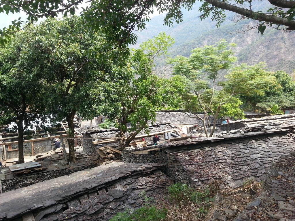 老七佳部落是台灣原住民族石板屋聚落保存最完整的地方。記者張進安/攝影