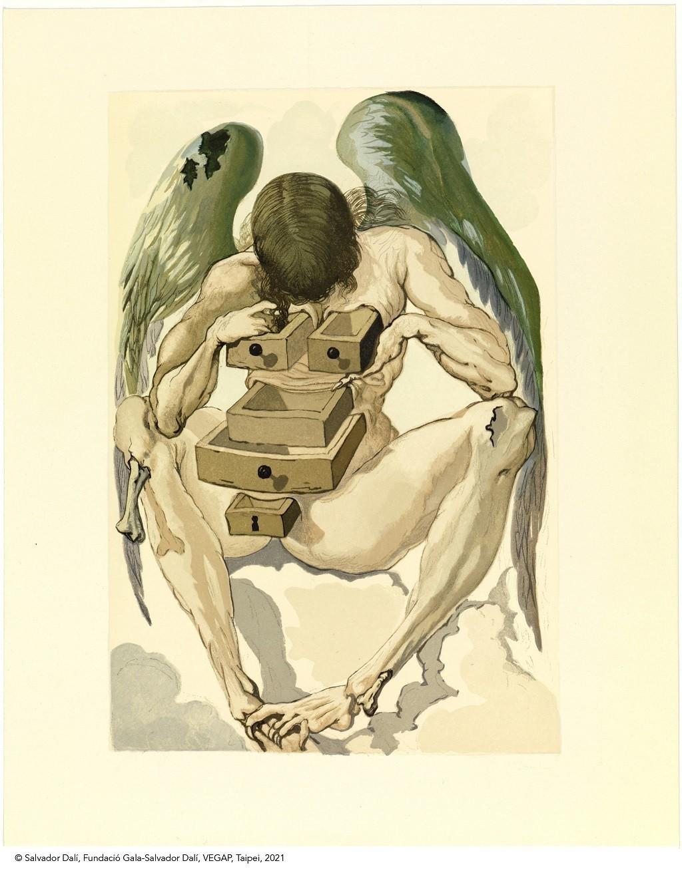 《神曲》墮落的天使。圖/時藝多媒體提供