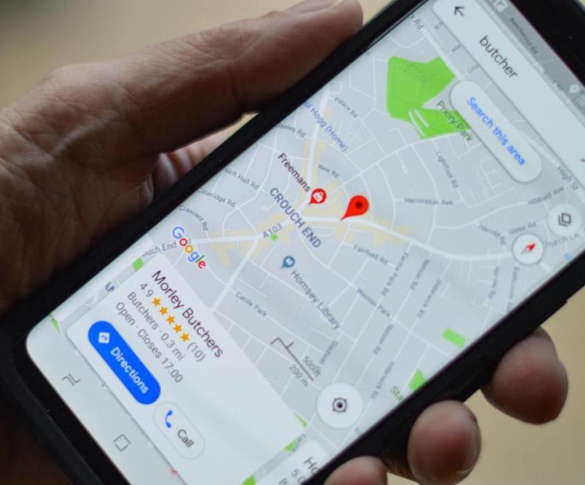 Google Map-指引使用者:最小碳排路