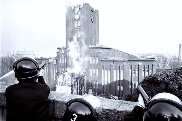 重磅廣播/香港傳授日本鎮暴戰術?1969警察攻入校園的「東大安田講堂事件」