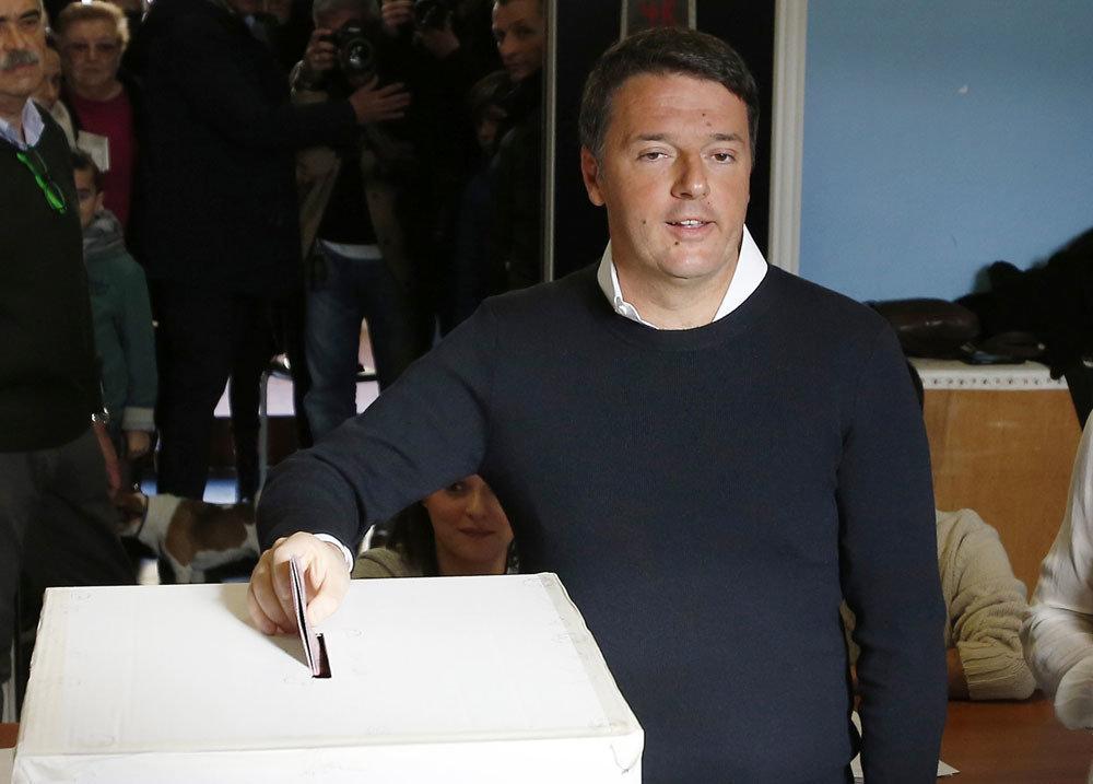 12月4日 義大利修憲公投沒過