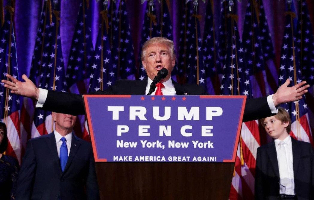 11月9日 川普當選美總統