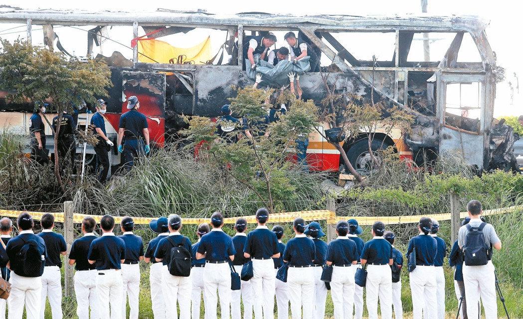7月18日 陸客火燒車意外
