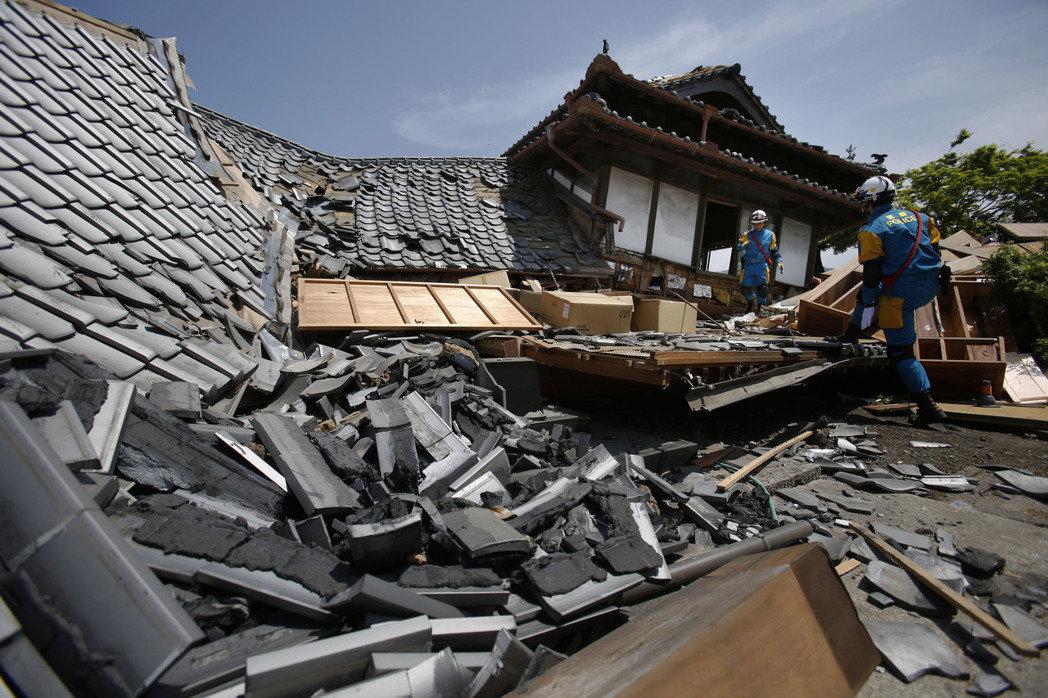 4月16日 日本熊本強震