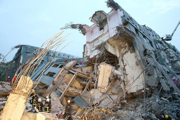 2月6日 南台大地震