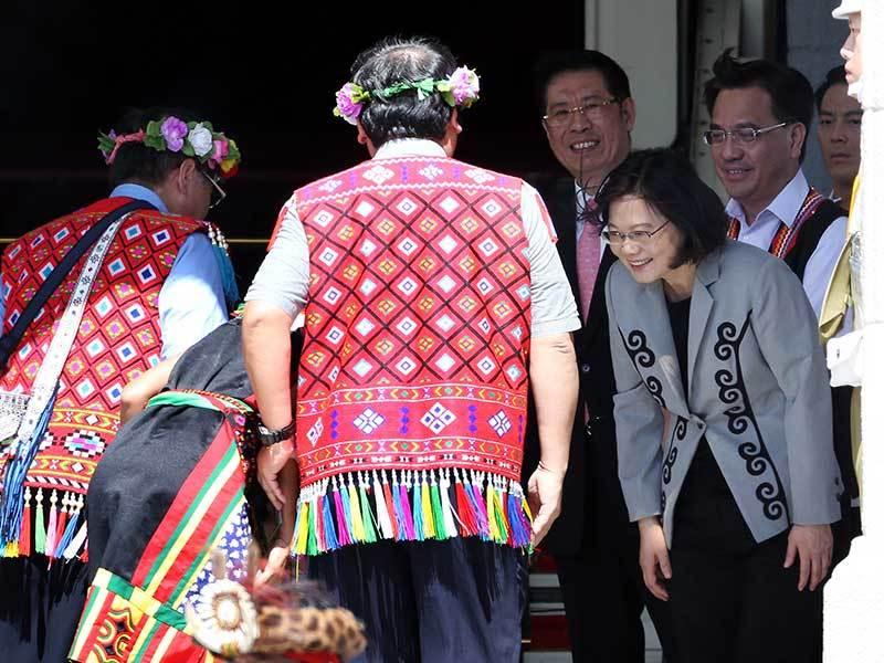 8月1日 總統向原住民道歉