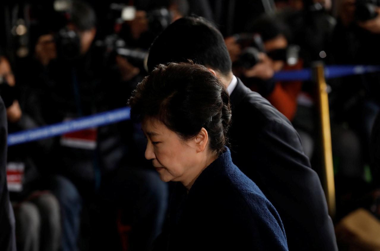 朴槿惠彈劾下台 韓國民選總統第一人