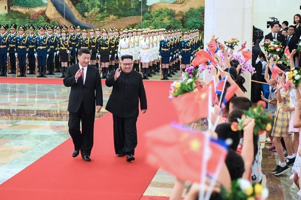 習金3個月3會晤 推進朝鮮半島和平